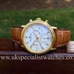Here we have a fabulous Split Second Chronograph 18ct Gold made by Blancpain -1185-1418-55