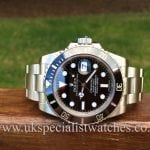 for sale at uk specialist watches a Rolex Submariner Date Ceramic Bezel 116610LN