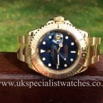 The ultimate dive watch a 18 ct Gold full size gents yacht master