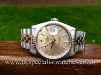 UK Specialist watches has for sale Rolex Date-Just 16220 36mm 'Jubilee Bracelet'
