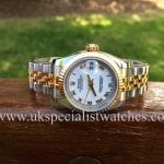 for sale at UK Specialist watches a new model Rolex Lady-Datejust