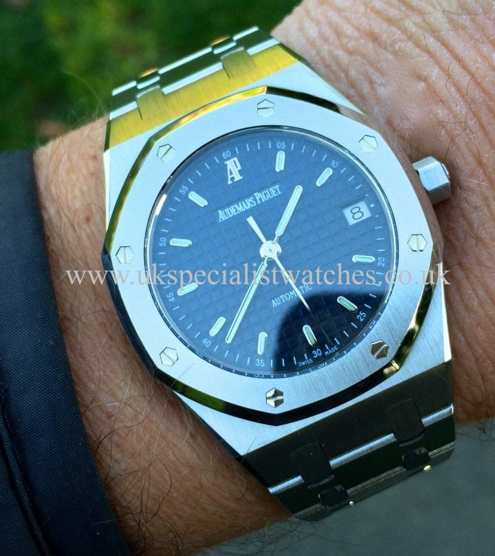 For sale at UK Specialist Watches Audemars Piguet Royal Oak 37mm 4790ST.OO.0789ST.08