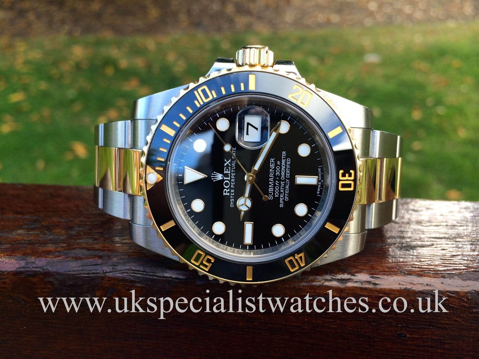 Rolex Submariner Date 116613LN Steel & Gold - Black Dial ...