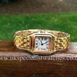 For sale a wonderful lady's Cartier Panthere Ladies 18ct Solid Gold - W25022B9