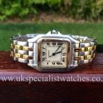 UK Specialist Watches have a Gents Cartier Panthere Steel & Gold