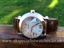 For sale at UK Specialist Watches Chopard Happy Sport Medium 36mm Rose gold 'Diamonds' 278492-9004