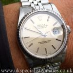 Rolex Date-Just 16220 36mm 'Jubilee Bracelet'