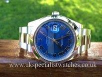 Rolex Datejust 2 Steel 41mm 'Blue Dial' 116300