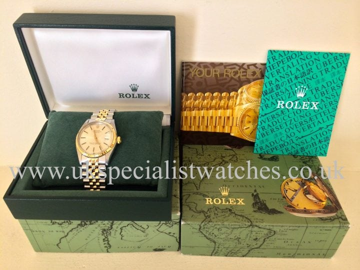 For sale at UK Specialist WatchesRolex Datejust 1601 Vintage