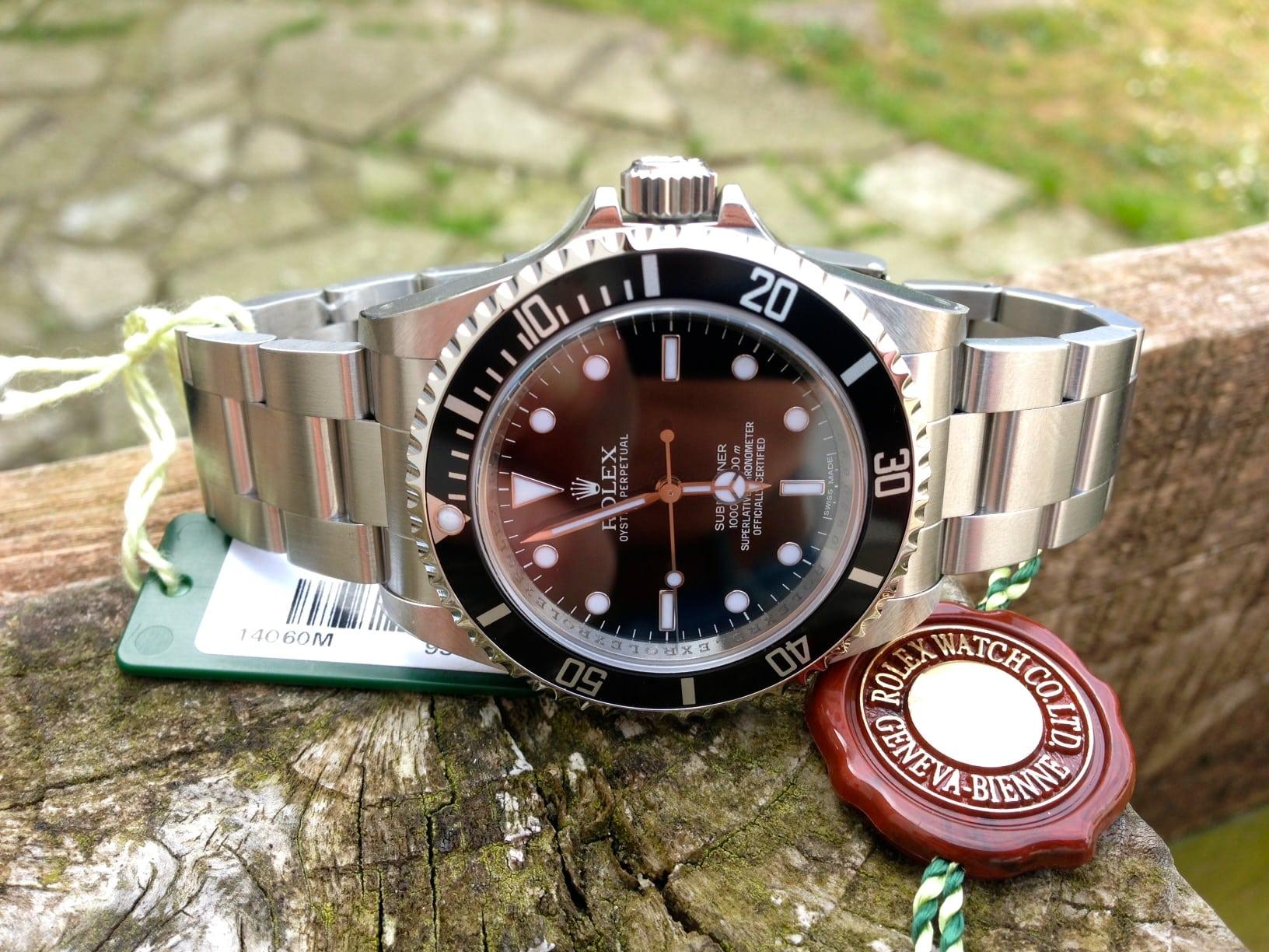 Rolex Submariner steel new-unworn 14060M.