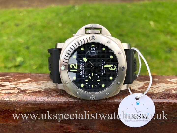 Panerai Luminor Submersible - 44mm - Pam00025