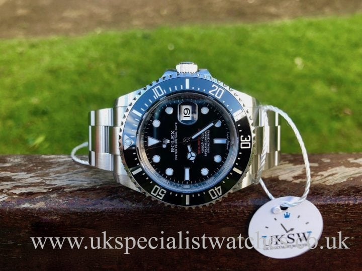 UK Specialist Watches have a new model Rolex Sea-Dweller 126600 – Red Writing – 50th Anniversary