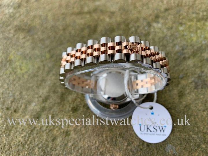 Rolex Lady-Datejust – Steel & 18ct Rose Gold – 179171
