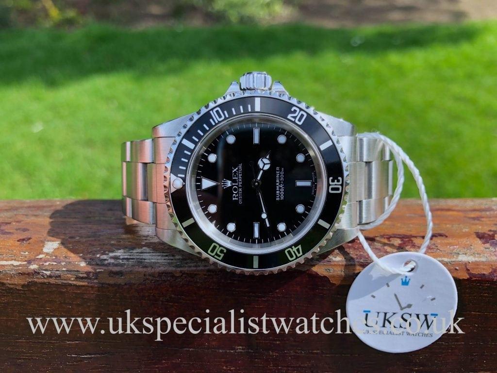 Rolex Submariner Non-Date – Steel – 14060– Full Set