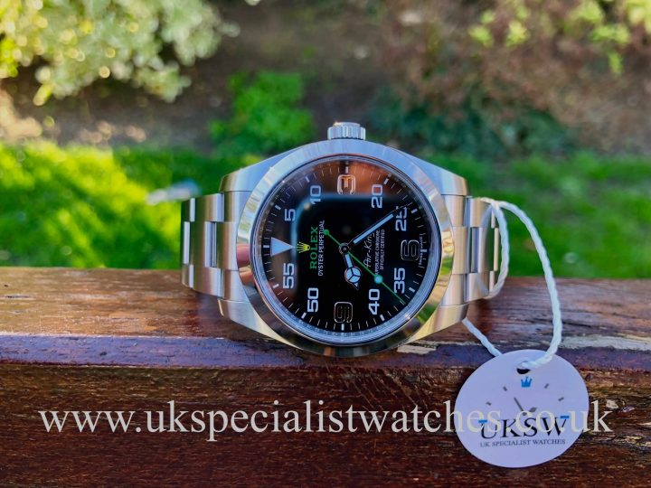 UK Specialist Watches have a Rolex Air-King 40mm - Stainless Steel - 116900