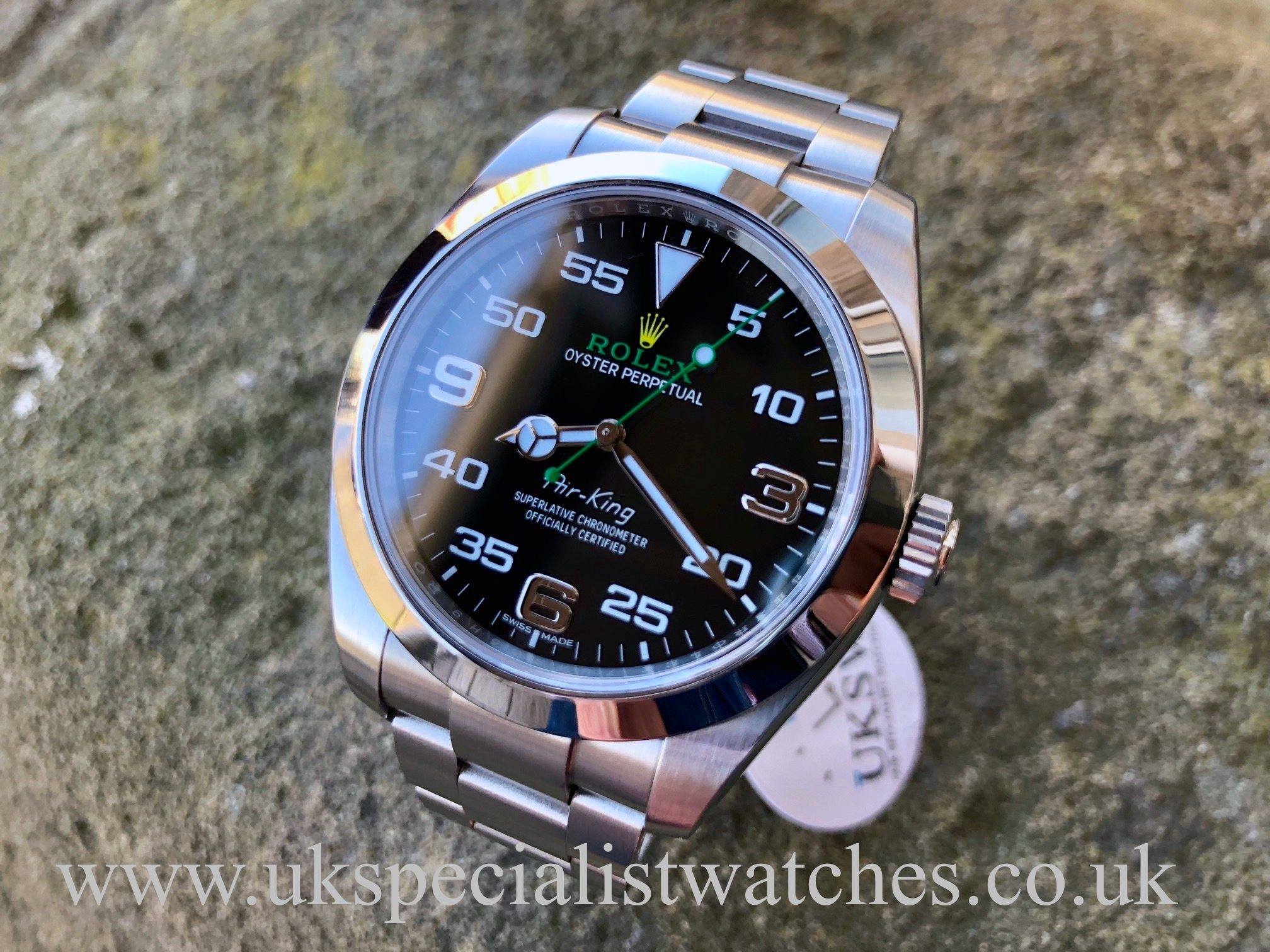 newest 8bf27 98afd Rolex Air-King NEW MODEL 40mm - Stainless Steel - 116900