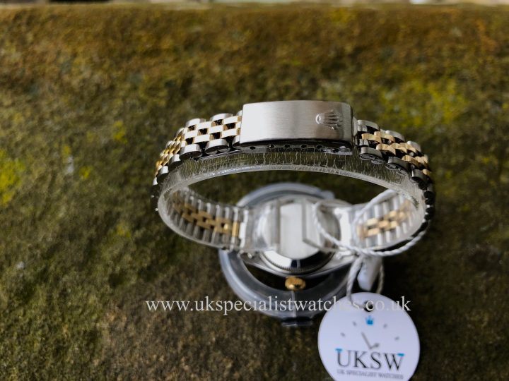 UK Specialist Watches have a Rolex Datejust 6917 – Blue Diamond Dial - Vintage 1973