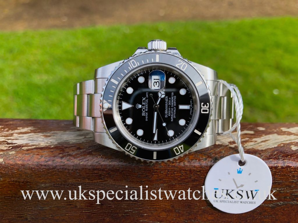 Rolex Submariner Date – First Edition – 116610LN