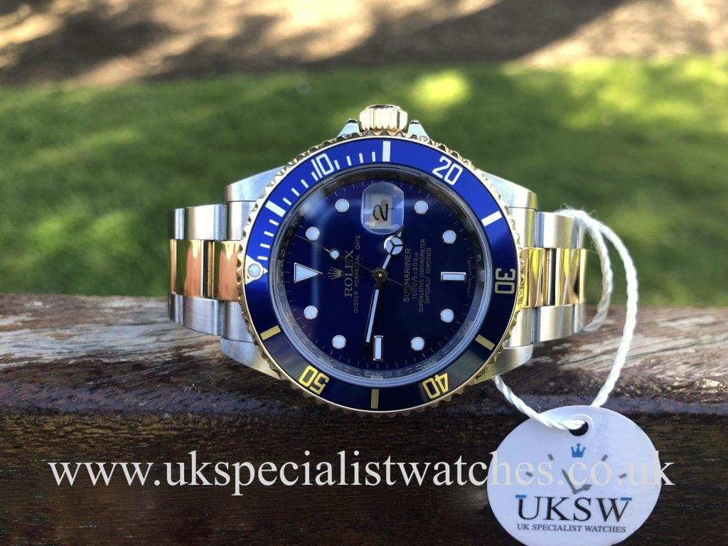 Rolex Submariner Steel & 18ct Gold – 16613 – Final Edition