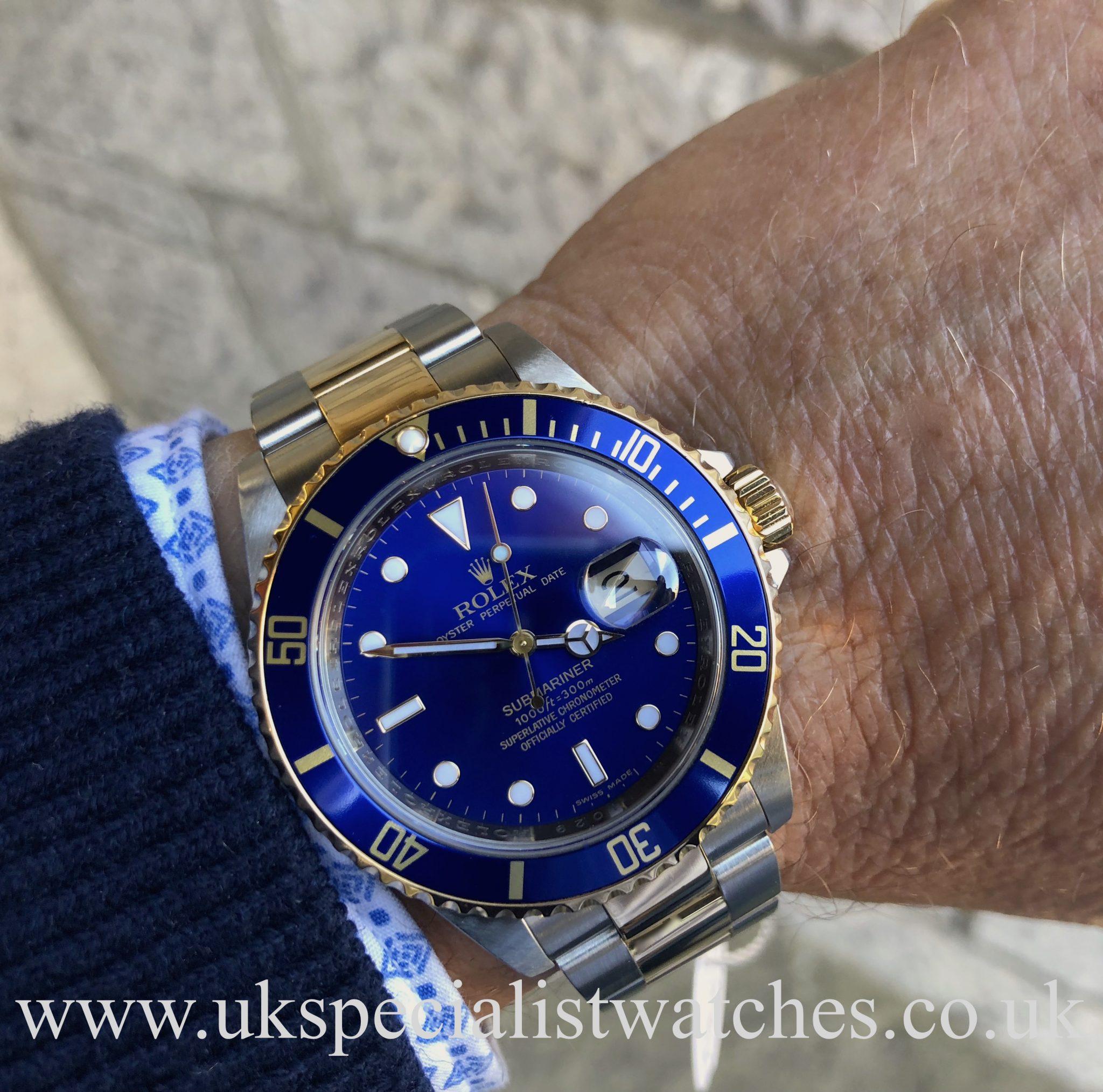 Rolex Submariner Steel & 18ct Gold - 16613 - Final Edition ...