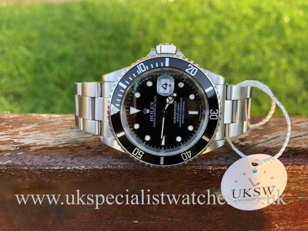 Rolex Submariner Steel Date 16610 – Swiss T 25 Dial