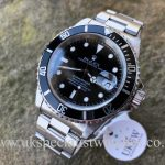 UK Specialist Watches have a Rolex Submariner Steel Date 16610 – Swiss T 25 Dial