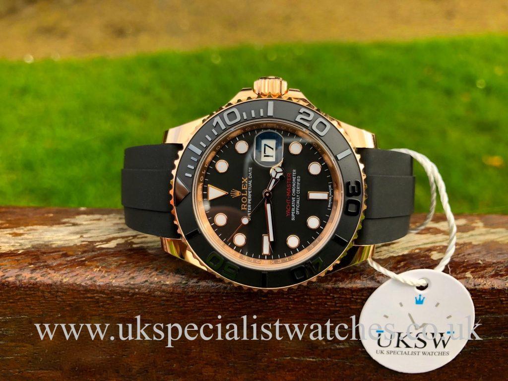 Rolex Yacht-Master 40mm – 18ct Everose – 116655