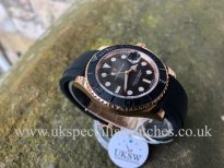 UK Specialist Watches have a stunning Rolex Yacht-Master 40mm - 18ct Everose - 116655