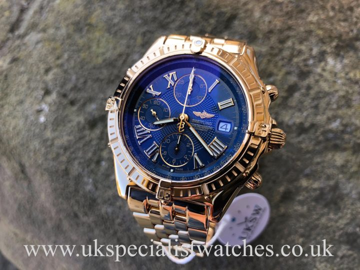UK Specialist watches have a Breitling Crosswind Chrono – 18ct Yellow Gold - K13055