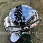 UK Specialist Watches have a Rolex Sea-Dweller 126600 – Red Writing – 50th Anniversary NEW
