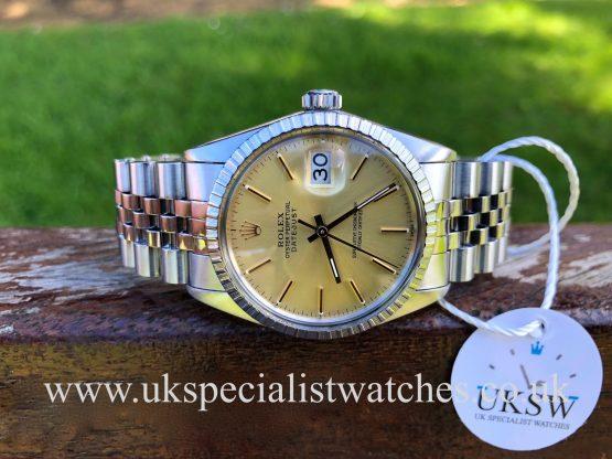 Rolex Datejust 16030 – Stainless Steel – Vintage 1987