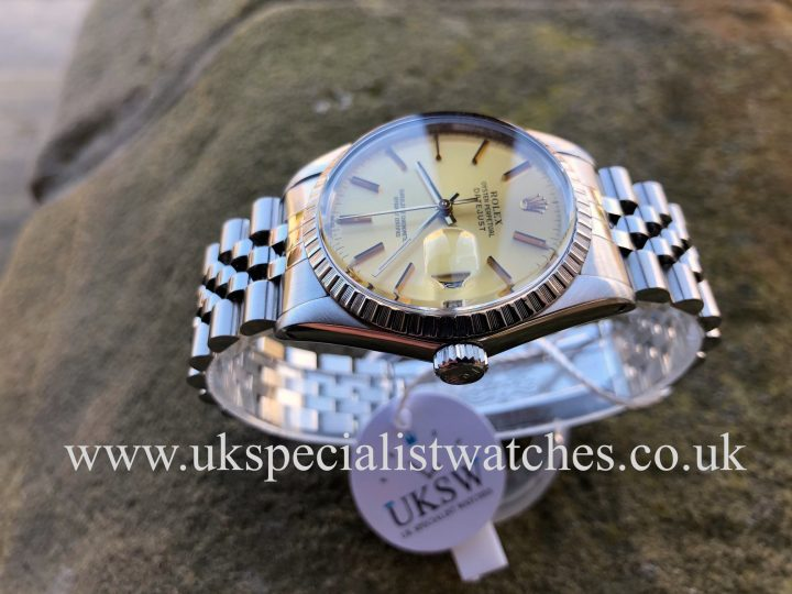 UK Specialist Watches have a Rolex Datejust 16030 – Stainless Steel – Vintage 1987