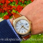 Rolex Datejust Gents 18ct Yellow Gold - White Dial - 116138