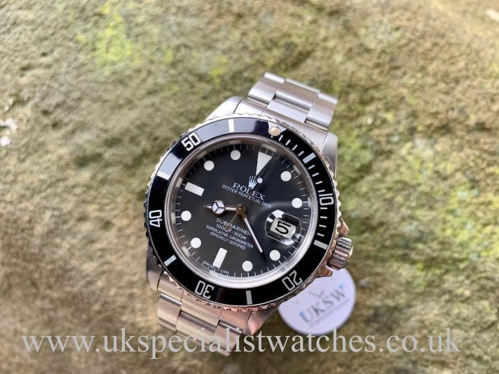 Rolex Submariner 16800 - Swiss T25 Transitional Dial - Vintage 1981