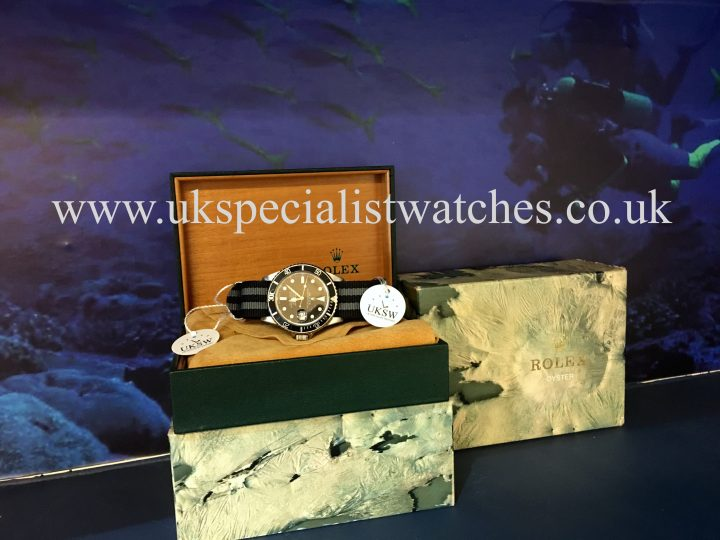 UK Specialist Watches have a Rolex Submariner 16800 - Swiss T25 Transitional Dial - Vintage 1981