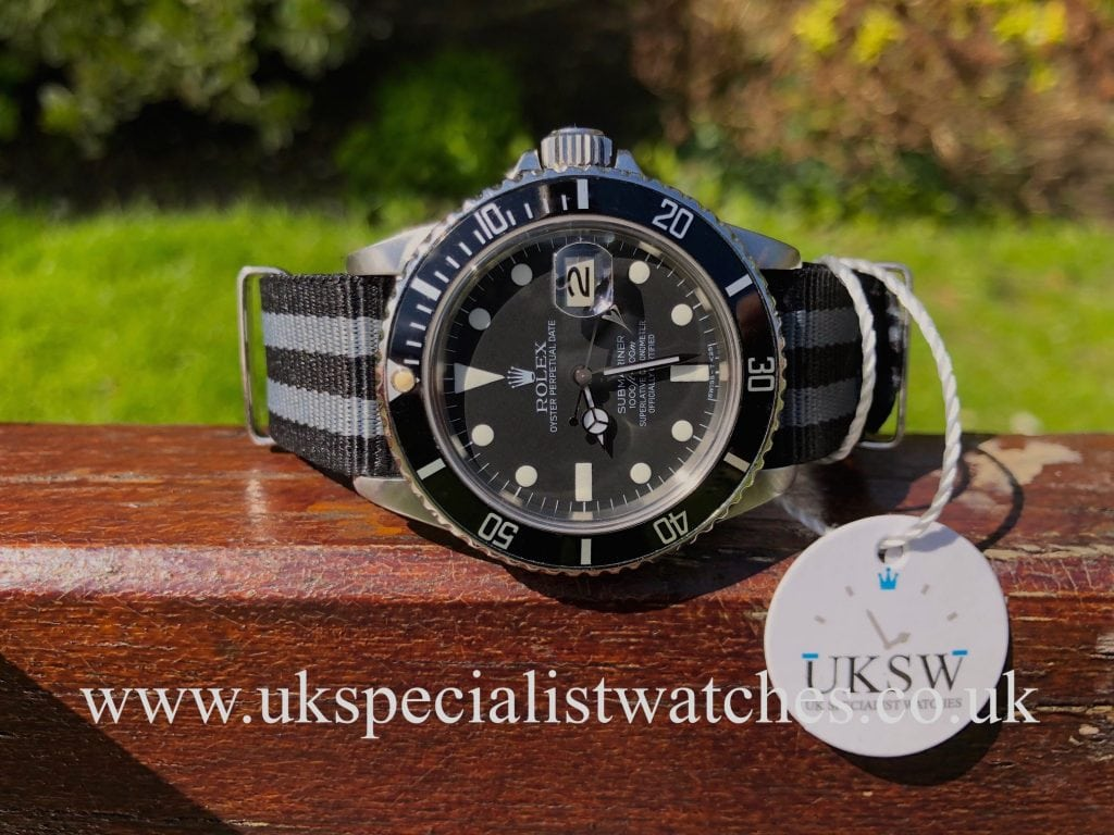 Rolex Submariner 16800 – Swiss T25 Transitional Dial – Vintage 1981