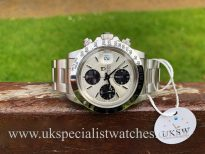 UK Specialist Watches have a Tudor Oysterdate Big Block - Steel - Chronograph - 79180
