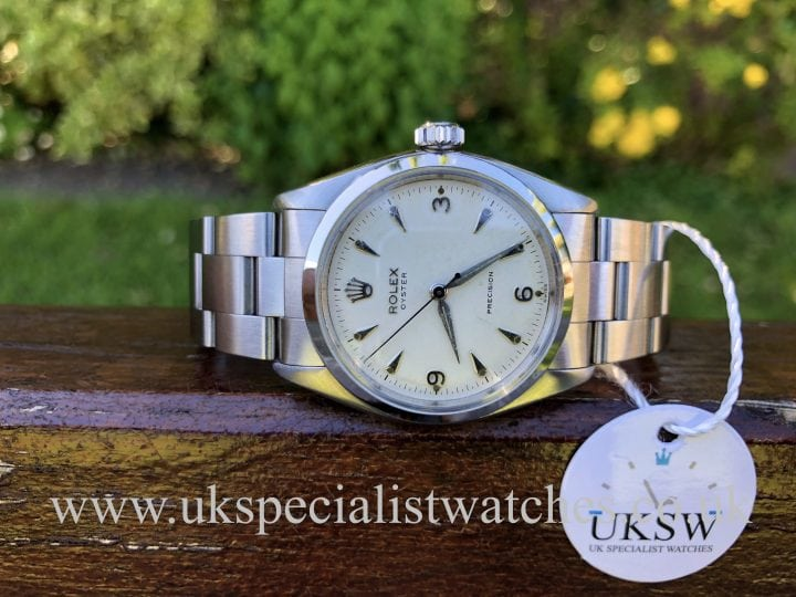 Rolex Oyster Precision - 3,6,9 Dial - Vintage 1956