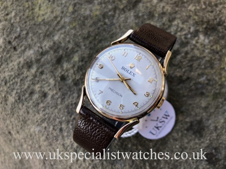 Rolex Precision Gents - 9ct Rose Gold - Vintage 1958