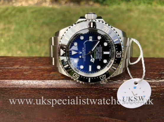 ROLEX DEEPSEA D-BLUE – JAMES CAMERON -116660 – STICKERS