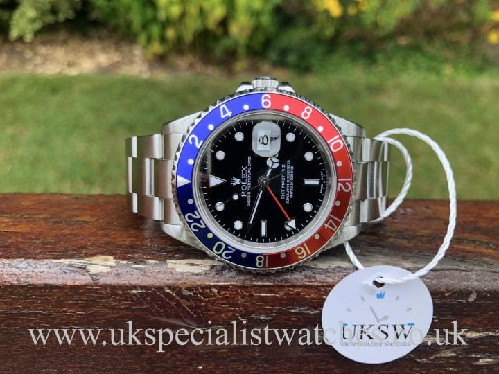 ROLEX GMT MASTER II – PEPSI – 16710 – FULL SET