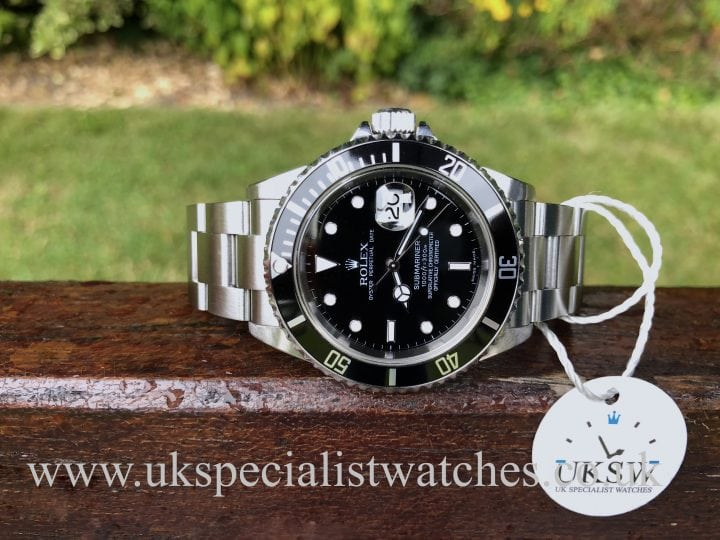 ROLEX SUBMARINER DATE - STAINLESS STEEL - 16610T
