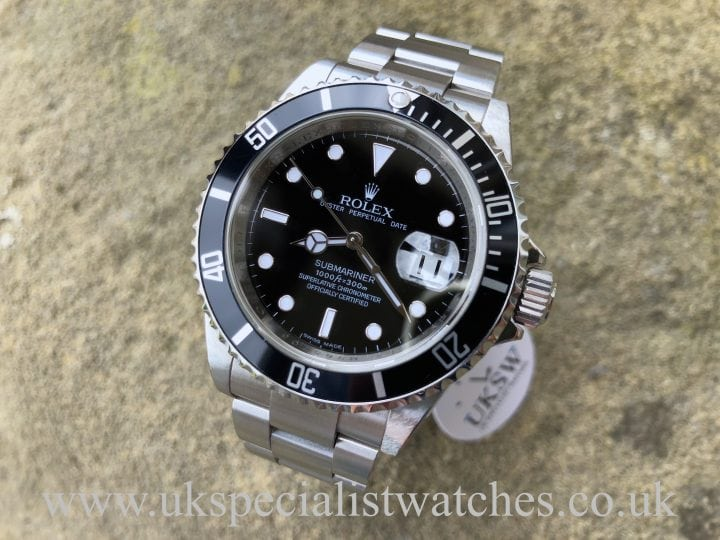Rolex Submariner Date - Stainless Steel - 16610 - Final Edition