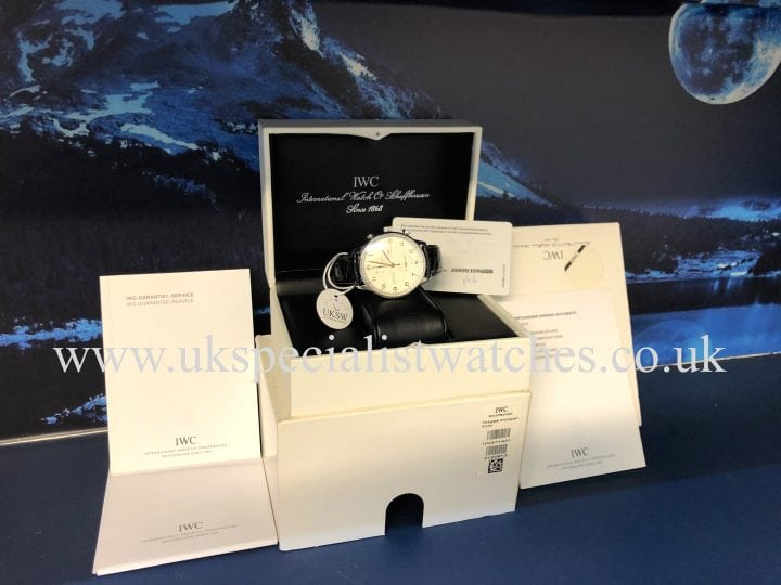 IWC PORTUGUESE CHRONOGRAPH – STAINLESS STEEL – IW371445