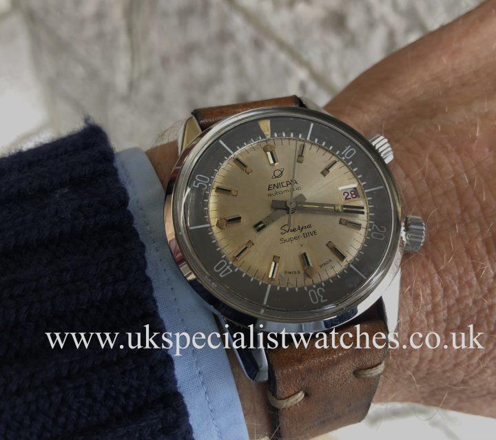 Enicar Sherpa Super Dive - Automatic - Vintage 1966