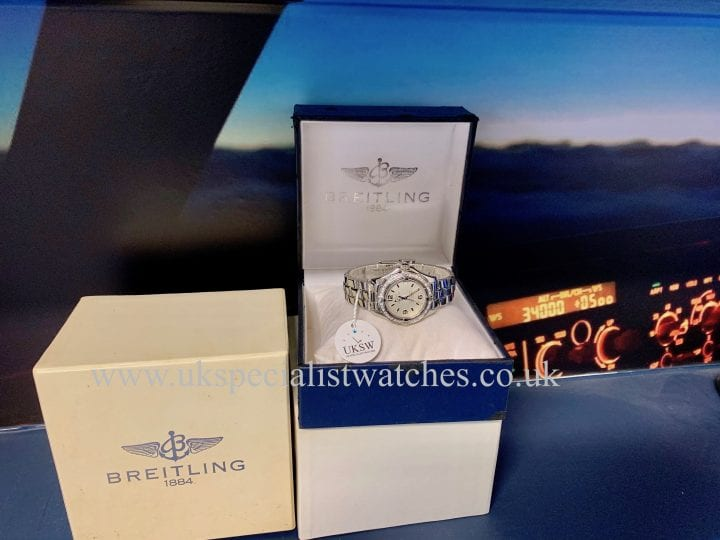 BREITLING COLT OCEANE LADIES – DIAMOND BEZEL - A77350