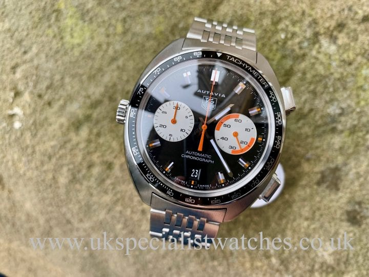 TAG HEUER AUTAVIA - STAINLESS STEEL - CY2111