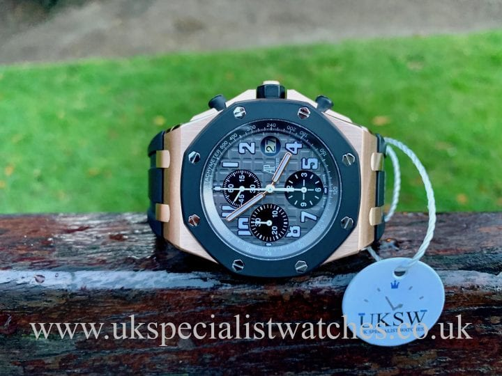 AUDEMARS PIGUET ROYAL OAK OFFSHORE - 25940OK - ROSE GOLD