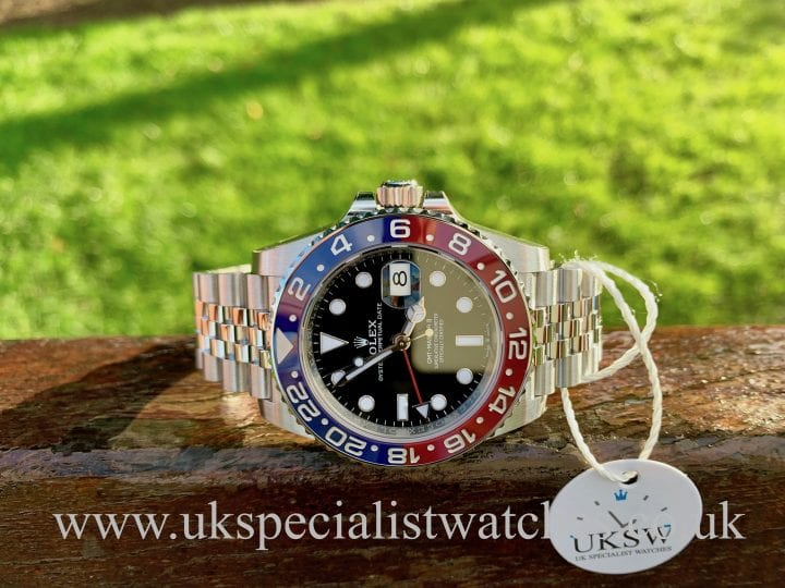 ROLEX GMT-MASTER II PEPSI – 126710BLRO – UNWORN STICKERS / NEW