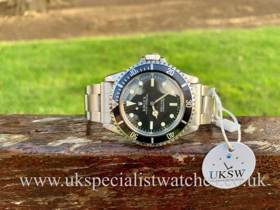 ROLEX SUBMARINER 5513 - METERS FIRST – VINTAGE 1967